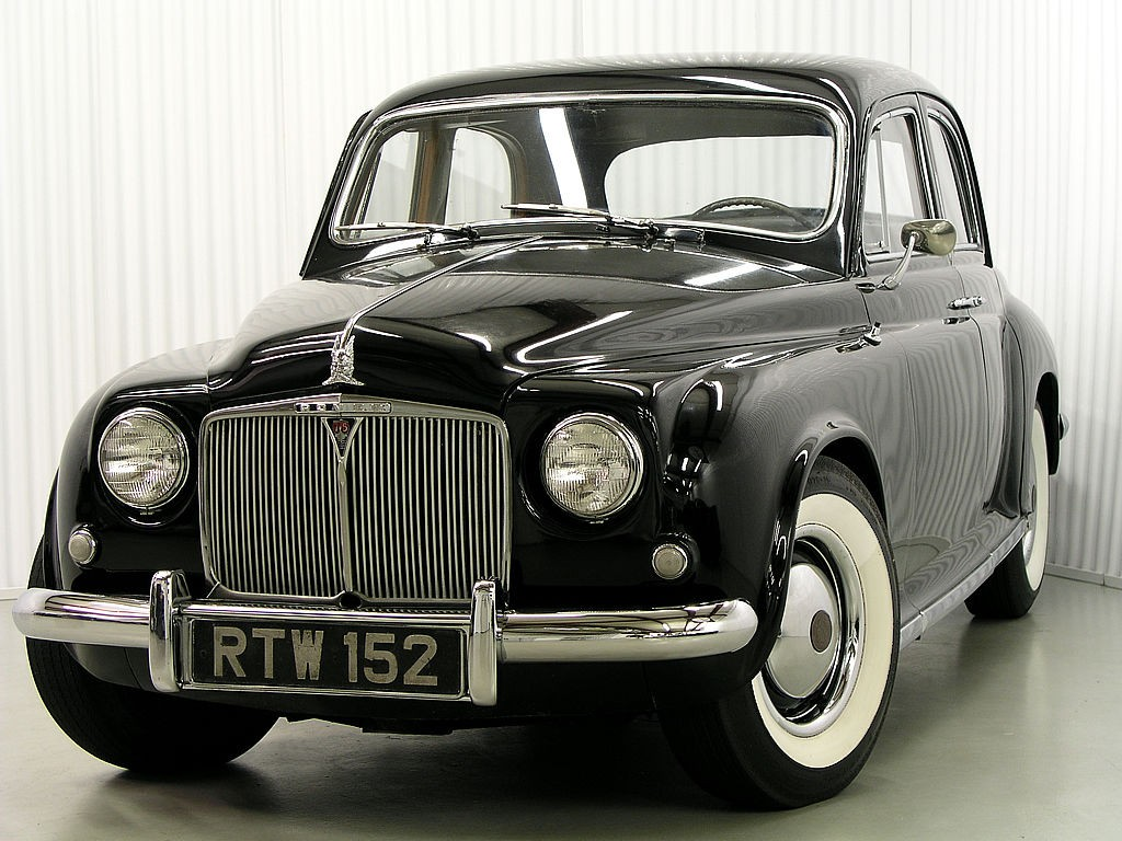 1954 Land Rover P4 Saloon 75 For Sale