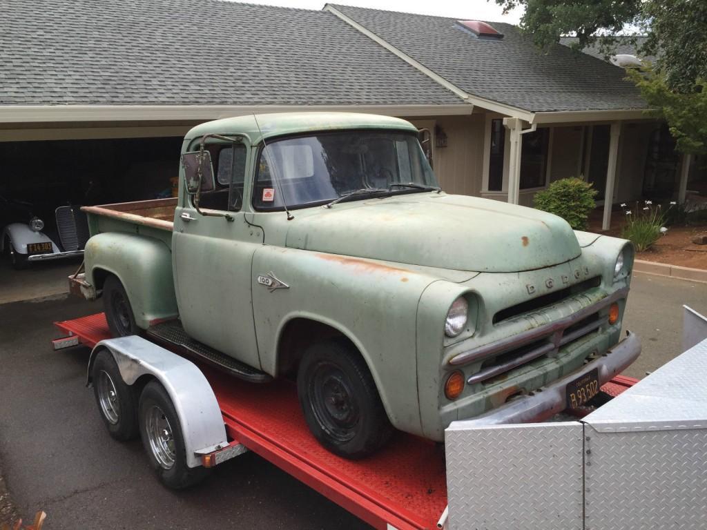 1955 Dodge Truck For Sale >> 1957 Dodge Pickups D100 Shortbed Stepside for sale