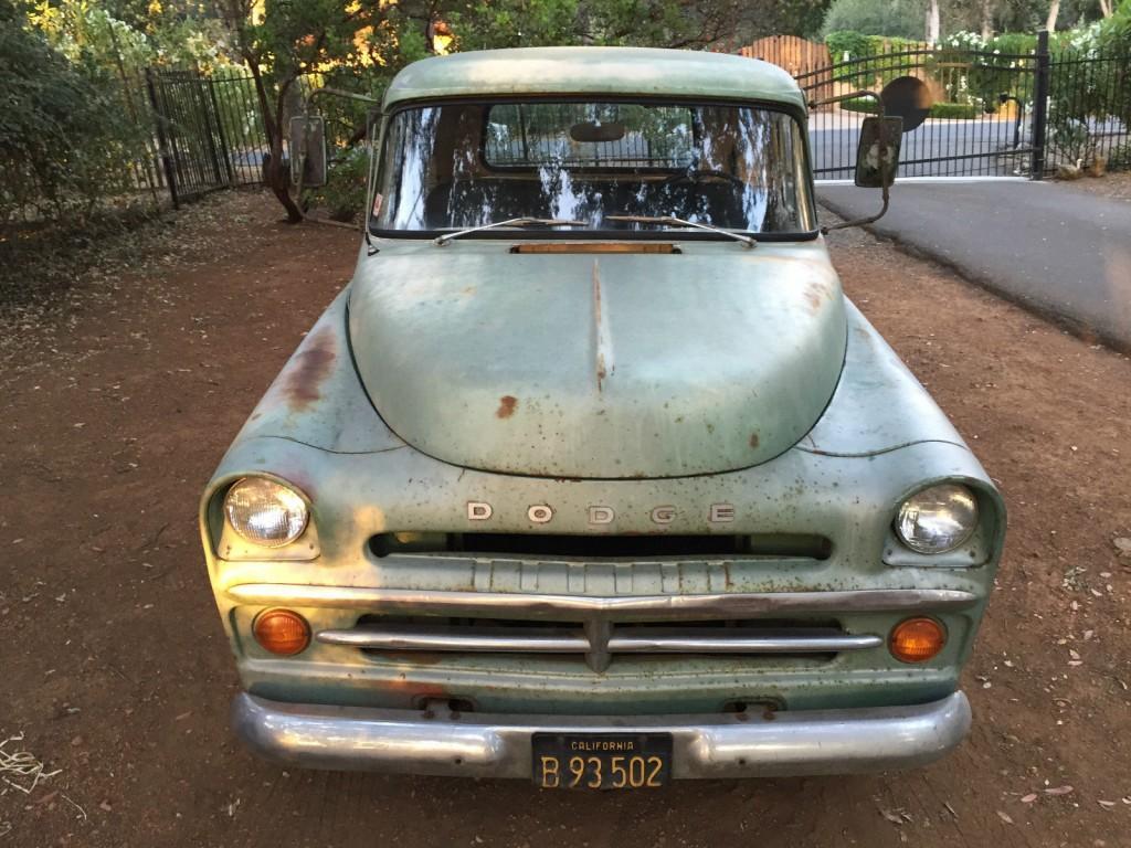 1957 Dodge Pickups D100 Shortbed Stepside