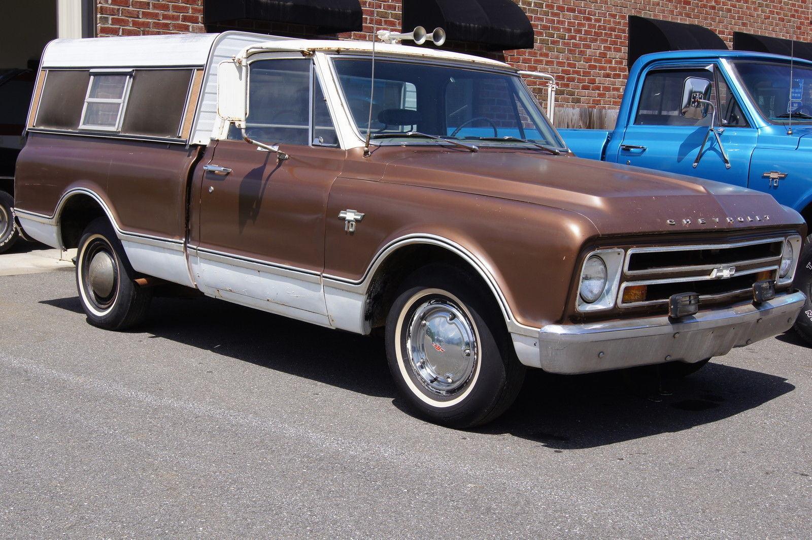 1967 Chevrolet C 10 Shortbed Pickup For Sale