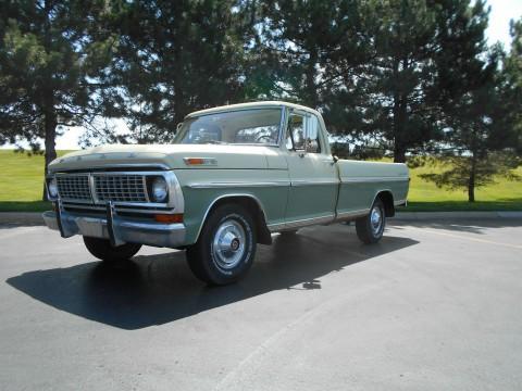 1970 Ford Pickups Survivor, BARN Find, Unmoleted 2 Owner Actual MILE for sale