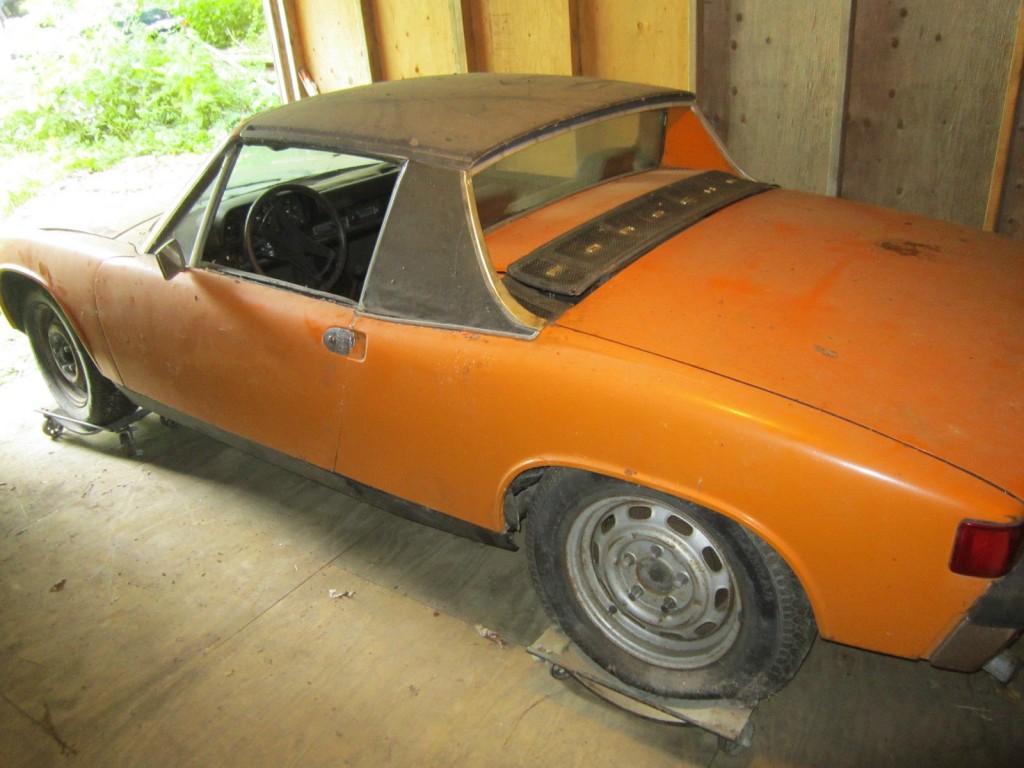 1970 Porsche 914 6 Targa top