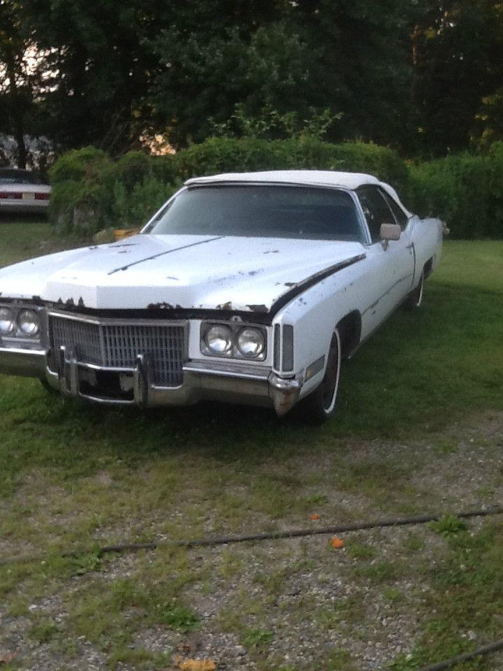 1971 Cadillac Eldorado Convertible Barn Find
