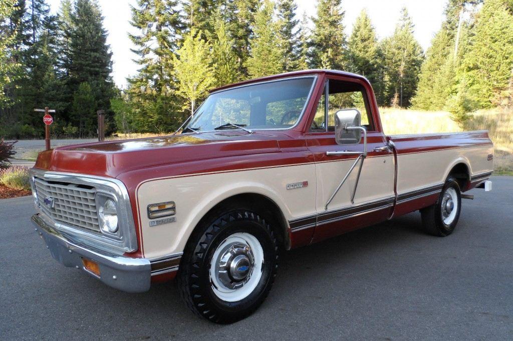 1971 Chevrolet C 20 Cheyenne Barn Find For Sale