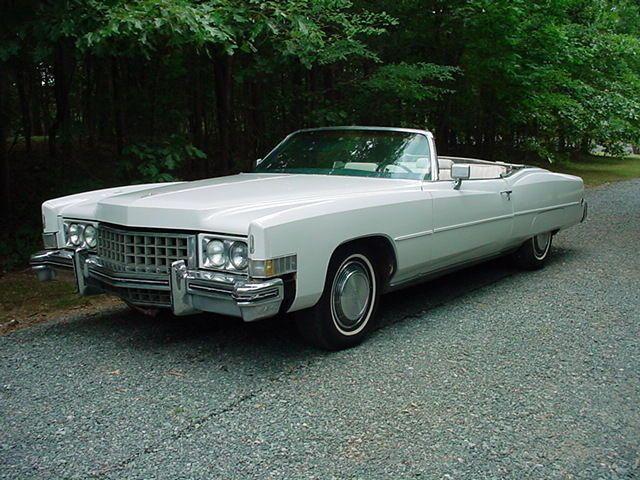 1973 Cadillac Eldorado Eldorado Convertible