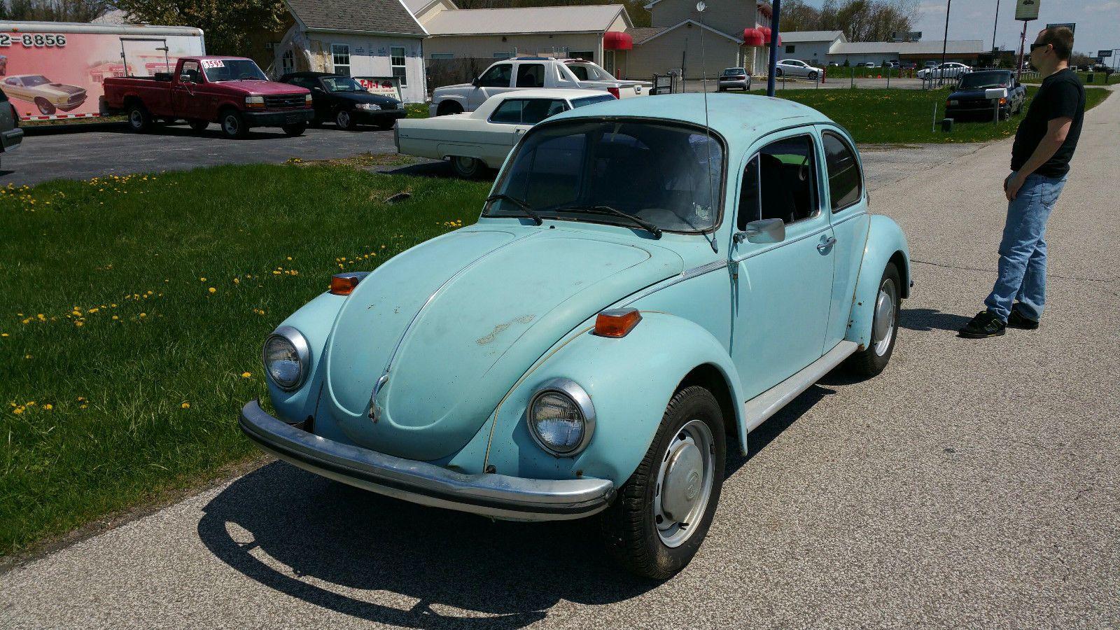 1973 volkswagen beetle classic bug for sale. Black Bedroom Furniture Sets. Home Design Ideas