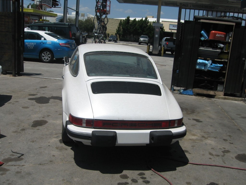 1975 Porsche 911 S barn find