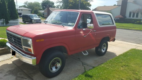 1985 Ford Bronco Custom 4WD Barn Find for sale