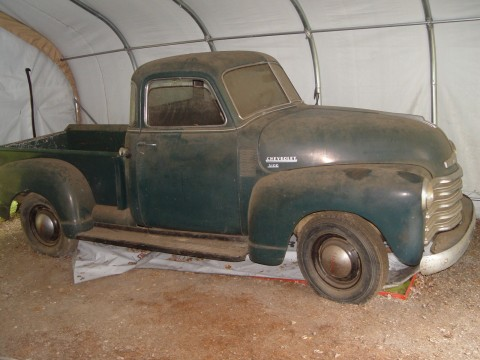 1950 Chevy 3100 Original 5 Window pick up Truck for sale