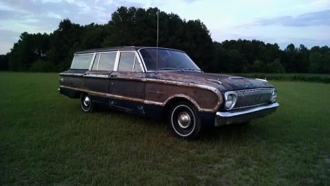 1962 Ford Falcon Super Deluxe Falcon Squire Wagon for sale
