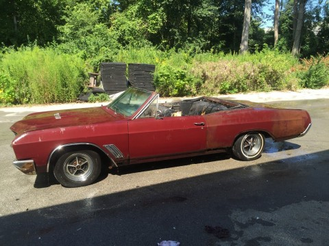 1967 Buick Skylark GS Convertible numbers matching for sale