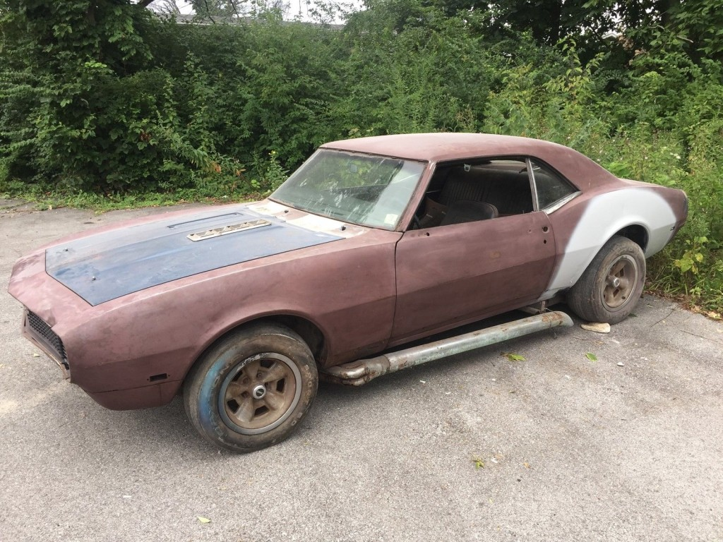 1968 Chevrolet Camaro Rs Ss Bard Find For Sale