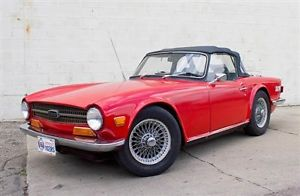 1969 Triumph TR 6 Overdrive for sale
