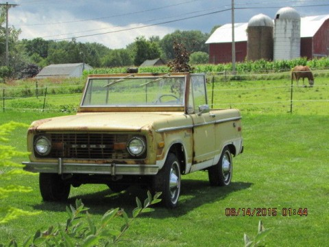 1973 Ford Bronco Ranger for sale