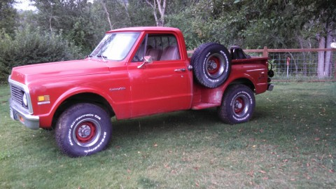 1971 Chevrolet C10 Stepside 4×4 for sale