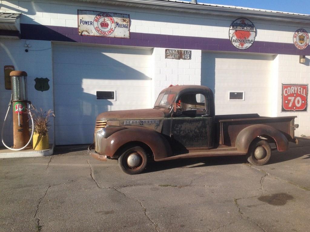 1941 Chevy Pickup 1/2ton Truck Survivor