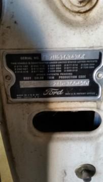 1957 Ford Custom 300/500 Tudor for sale