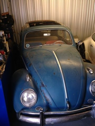 1959 volkswagen beetle classic for sale for Motor city barn finds