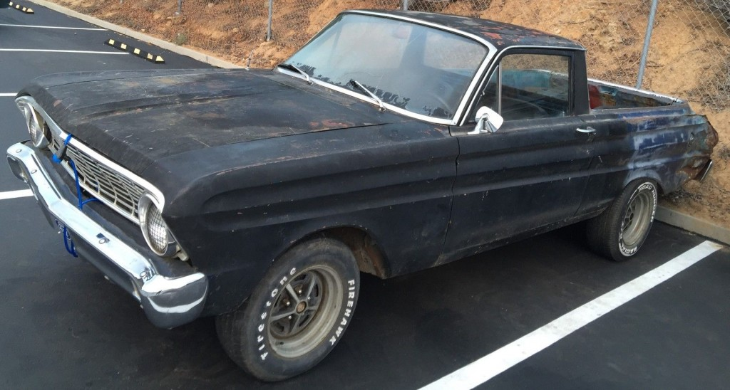 1965 Ford Falcon Ranchero 302 FOUR Speed California