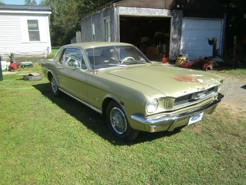 1966 Ford Mustang Coupe barn Find Project car for sale
