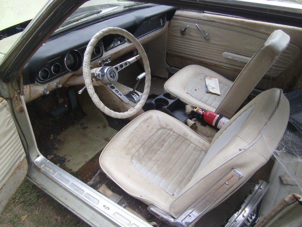 1966 Ford Mustang Coupe barn Find Project car