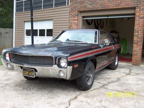 1968 AMC AMX Barn find for sale