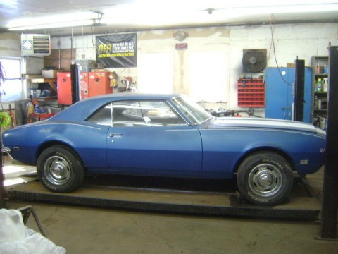 1968 Chevrolet Camaro Z28 barn find for sale
