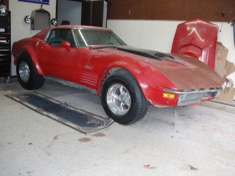 1970 Chevrolet Corvette barn find 454 4 Speed for sale