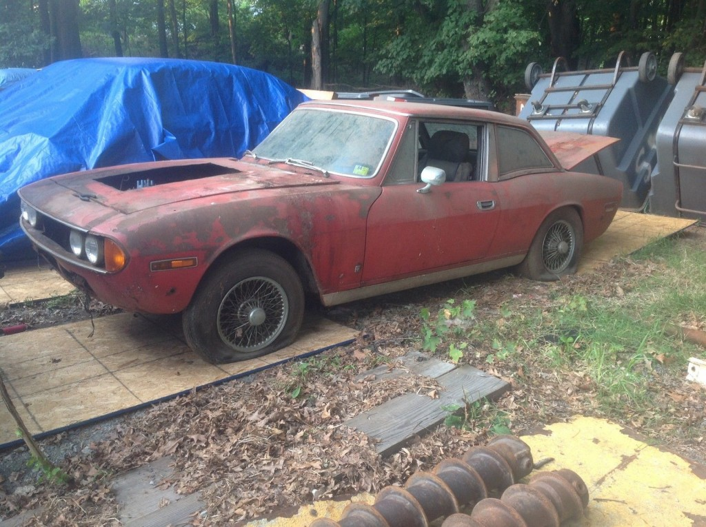 1971 Triumph Stag barn find
