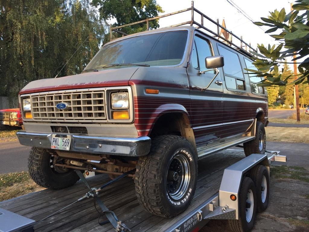 1986 Ford E350 Pathfinder 4 215 4 Van For Sale