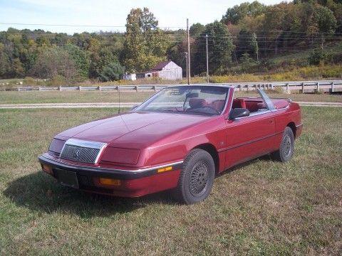 1991 Chrysler LeBaron Convertible for sale