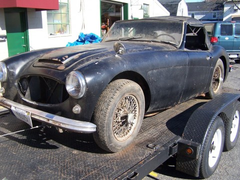 1958 Austin Healey 100/6 BN6 2 Seater Barn Find for sale