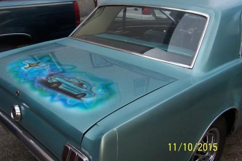 1965 Ford Mustang Batmobile Designer Barn/garage FIND for sale