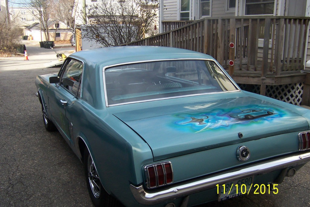 1965 Ford Mustang Batmobile Designer Barn/garage FIND