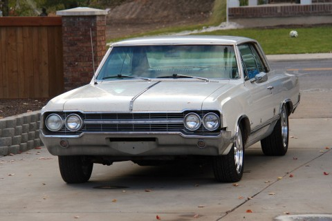 1965 Oldsmobile Cutlass Holiday 2 door Hardtop Barn Find in original condition for sale