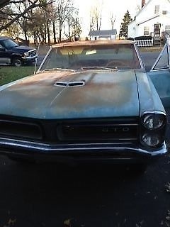 1965 Pontiac GTO Barn Find #s Matching 4 Speed A/C Car for sale