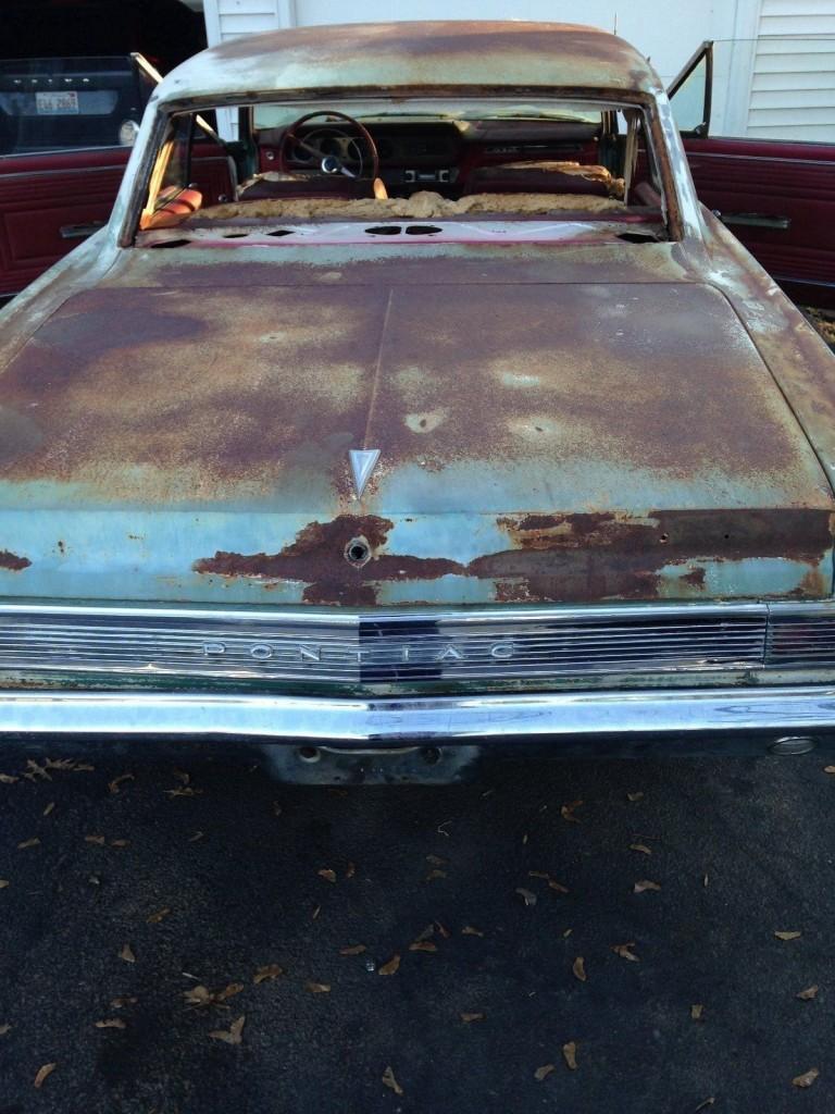 1965 Pontiac GTO Barn Find #s Matching 4 Speed A/C Car