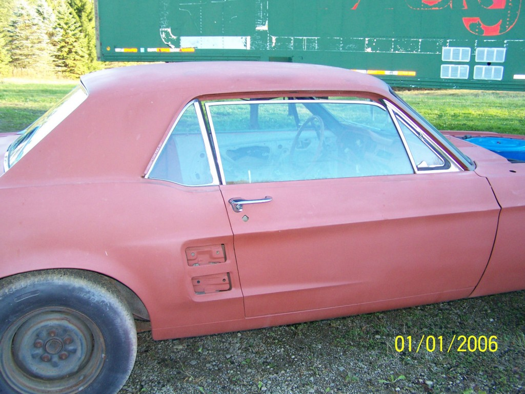 1967 Ford Mustang – Unmolested barn find '67 GTA coupe