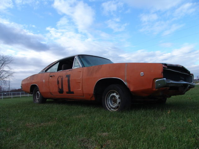 1968 dodge charger barn find numbers matching big block for Motor city barn finds