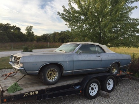 1968 Ford Torino GT Convertible RARE BARN FIND for sale