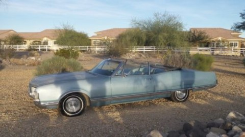 1968 Oldsmobile Ninety Eight BARN FIND Original BIG Block Super Rocket 455 for sale