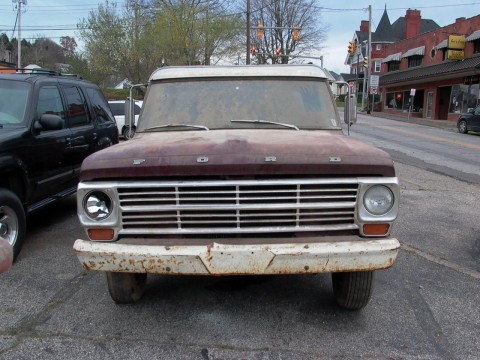 1969 Ford F 100 barn find for sale