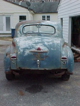 1948 Plymouth Special Deluxe Coupe Rat Rod Project Barn find for sale