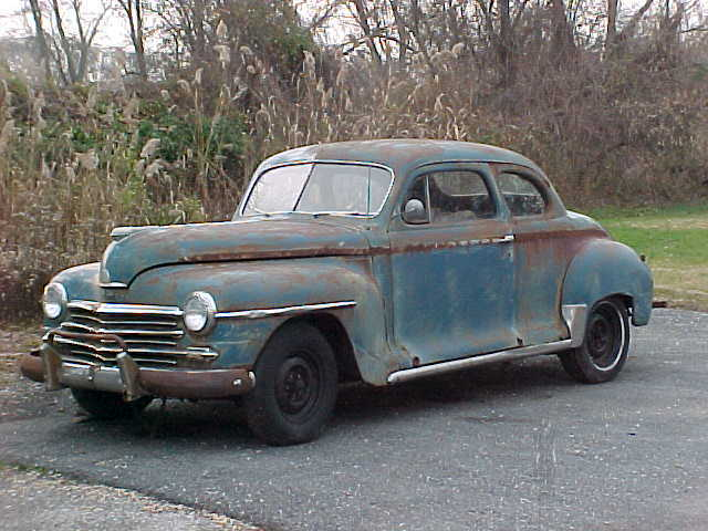 1948 Plymouth Special Deluxe Coupe Rat Rod Project Barn