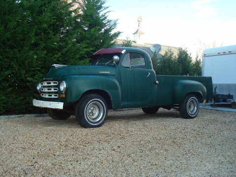 "1953 Studebaker Pickup "" farm Fresh barn find "" for sale"