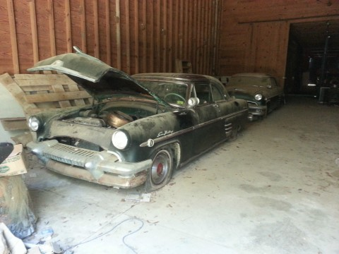 1954 Mercury Monterey Sun Valley barn find for sale