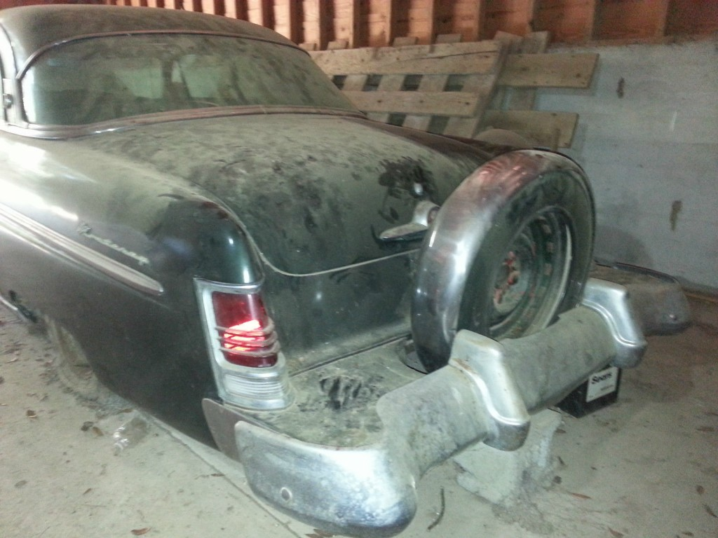 1954 Mercury Monterey Sun Valley barn find
