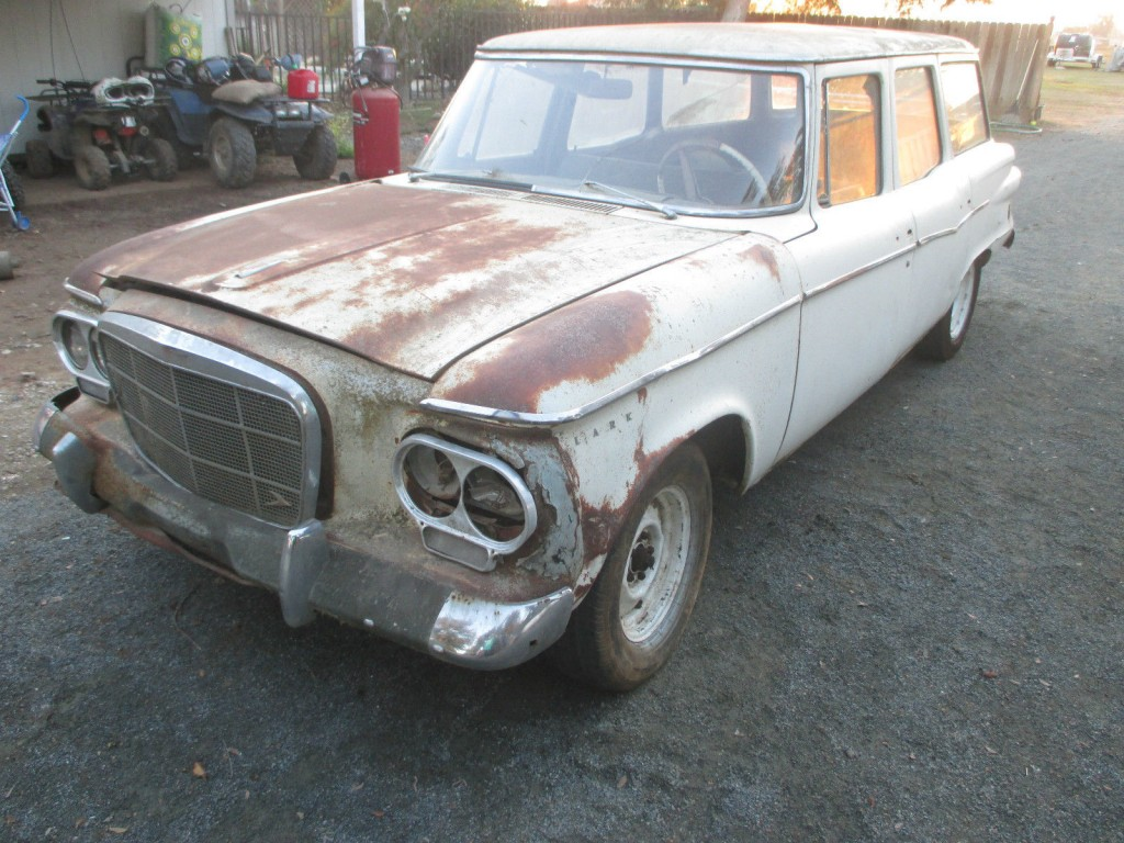 1962 Studebaker Lark Stationwagon Barn Find