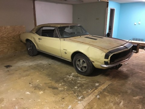 1967 Chevrolet Camaro Rs/ss 350 4 spd 12 bolt barn find for sale
