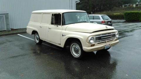 1967 International Harvester Delivery van hot rod barn find for sale